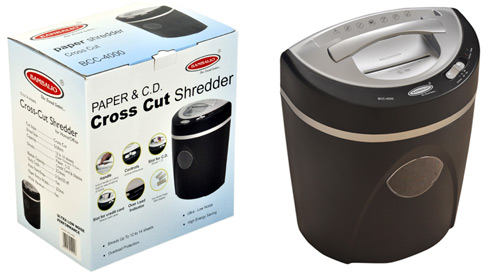 Paper / CD Shredder